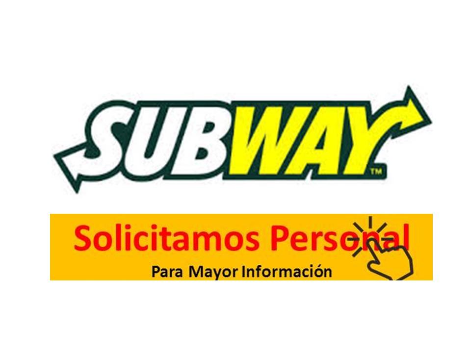 trabajar en subway